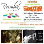 Clase de Zumba a beneficio RAC
