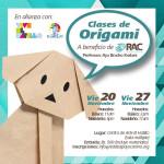 Clases de origami a beneficio RAC