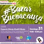 #BazarBuenaCausa