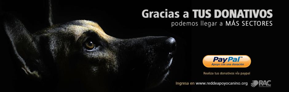 PayPal RAC Red de Apoyo Canino